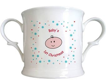 Baby's 1st Cartoon Bone China Loving Cup