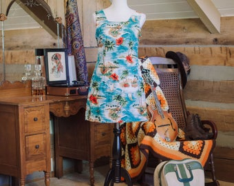 Vintage Shannon Marie Hawaii dress