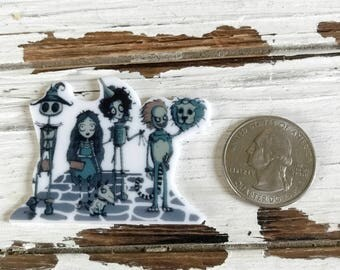 Burton'esque Inspired Wizardly of certain Ozes inspired Needle Minder