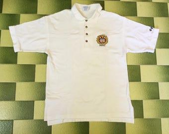 Vintage crazy shirts Hawaii B Kliban Cats Polo Collared Shirt