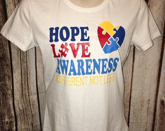 Autism Shirt, Autism Awareness Shirt, Autism Mom Shirt, Special Needs Awareness Shirt, Gift for Teacher, Special Needs Teacher Shirt