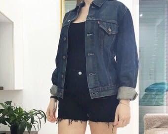 Levi's jeans jacket size M