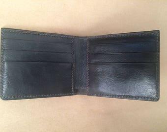 Hand crafted Slim billfold wallet