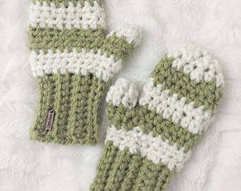 Crochet Mittens//Chunky Mittens//thick//Mittens