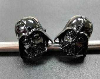 Star Wars Darth Vader Krazy Cufflinks ( Black ) Krazy-B4 Free Gift Box**