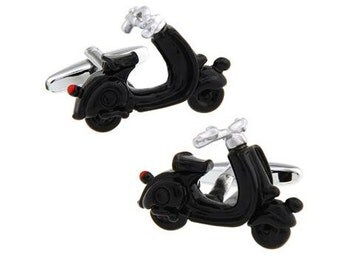 3D Scooter Bike Cufflinks-k66