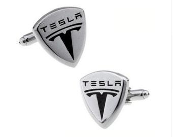 Tesla Car Cufflinks-k226