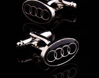 Audi Cufflinks -B45 Free Gift Box
