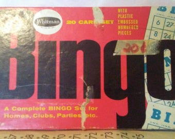 Bingo game from 1950s