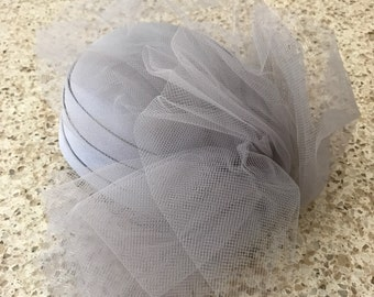 Vintage Satin and Lace Hat