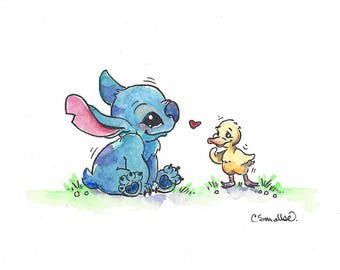 Stitch and Ugly Duckling