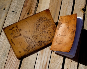 Custon Leather Bound Notebook