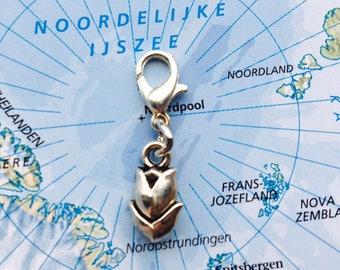 Dutch tulip charm - Mix & Match: Design your own charm bracelet!
