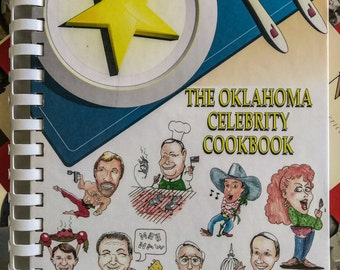 oKLAHOMA CELEBRITY COOKBOOK   PreOwned and Well Cared For....In Excellent Condition