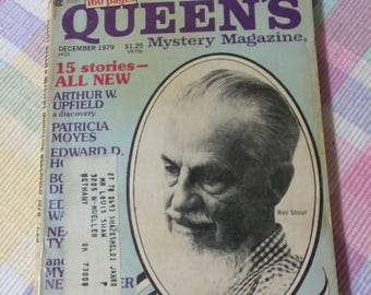 Ellery Queen Mystery Magazine DECEMBER  1979     *PreOwned and in Good Condition for age