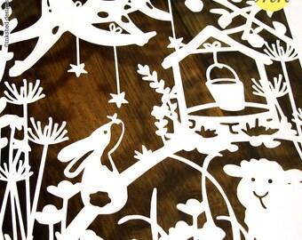 Framed Shadow Art - Nursery Rhyme