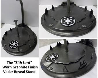 Bespoke Star Wars Display Stands (with custom paint, modular parts, lights etc)...