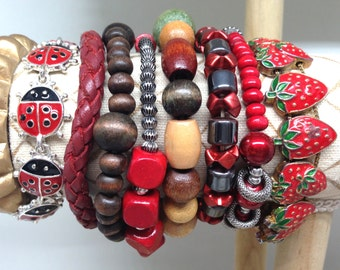 Gorgeous Eight Bracelets Lot