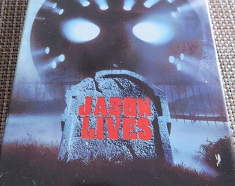 Friday The 13 TH Jason Lives Horror VHS