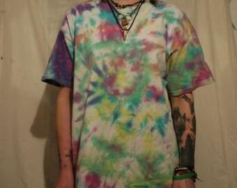 hippie tie dye shirt