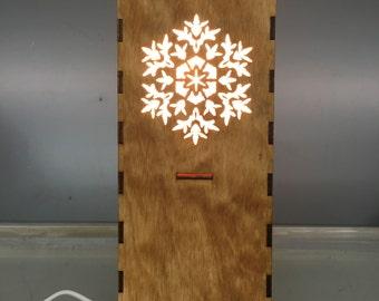Snowflake Lamp