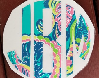 Iron On Decals/Monograms/Intials/Decals/Iron Ons