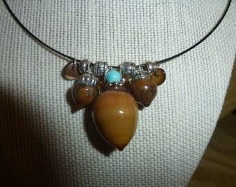 Acorn Necklace 1A