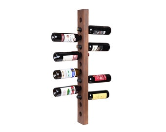 Wine rack 12 bottle wall mount