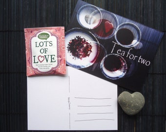 Postcard Tea for two