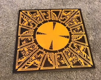Lament Configuration Puzzle Box Hellraiser Blank Square Greeting Card