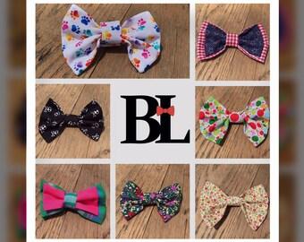 Handmade Custom Pet Bow Tie
