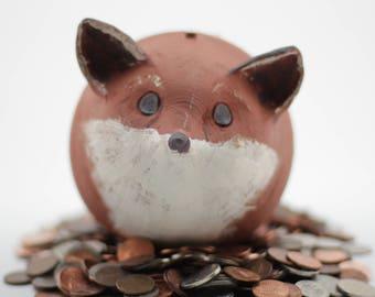 Fox Coin Bank