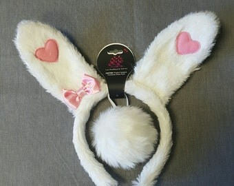 Bunny Ear Headband & Tail