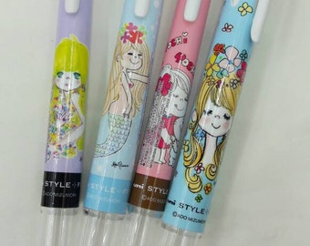Updated Limited Edition Uni Style Fit Mizumori Ado 3/5 color Barrel - 1 pen ONLY, like Coleto, ink not included