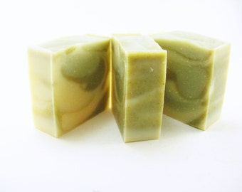 Breathe Easy Soap, using peppermint, spearmint, eucalyptus and rosemary essential oils, Homemade Soap, Natural Soap, Cold Process,