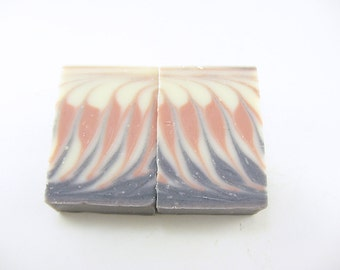 Rosemary Mint Soap, Energy Rush Soap, Peppermint, Spearmint Essential Oils, Natural Soap, Coconut Oil, Cold Process, Shea and Cocoa Butter