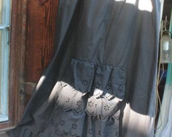 Costume skirt with Ruffles, M, black