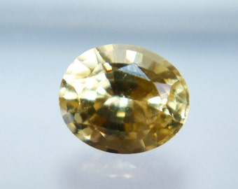 Natural Ceylon Loose Yellow Sapphire