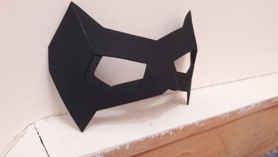 robin nightwing cosplay eye mask domino mask foam. Black Bedroom Furniture Sets. Home Design Ideas
