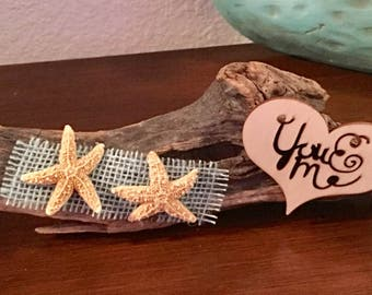 You & Me Driftwood tabletop decor