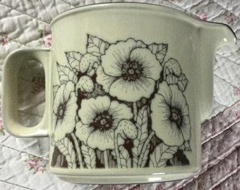 Hornsea Pottery - Cornrose large 1 pint jug
