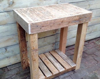 Reclaimed Wooden Rustic Vanity Unit/ Table