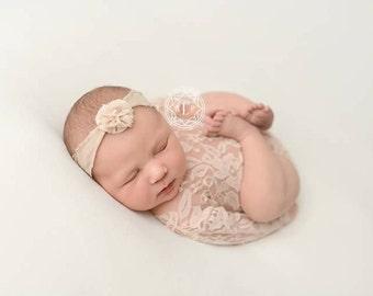 newborn lace onesie, Newborn photo prop, baby ballerina clothes, baby photograph prop, newborn romper, newborn lace headband, ballerina set