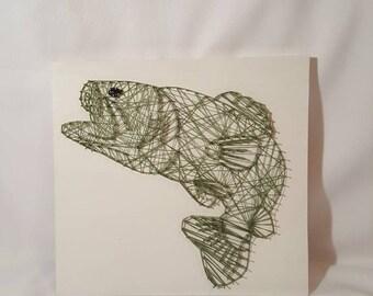 String Art- Walleye