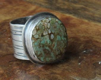 Sterling Birch Australian Varisite Ring Size 6/7