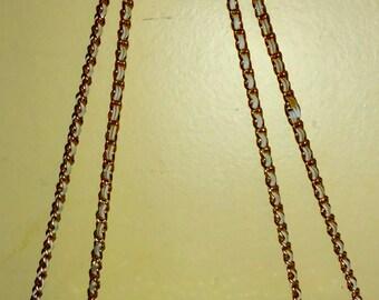 Vintage White Whiting and Davis International Metal Mesh Shoulder Bag/Evening Bag/Clutch/Purse