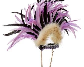Lilac Mohawk Crown
