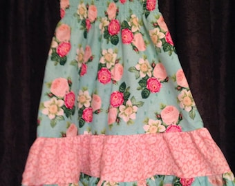 Floral 3t sundress