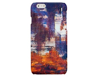 Blue iPhone case impressionism iPhone 5 6 7 art iPhone 6 7 plus cover iPhone SE iPhone 4 4S case Samsung Galaxy S7 S4 S5 S6 case
