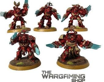 Warhammer 40k Blood Angels Terminator Assault Squad